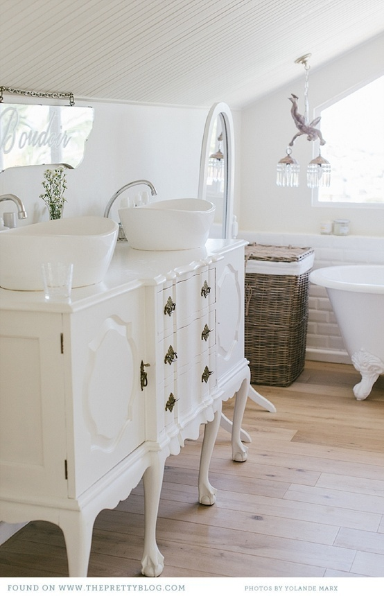 bathroom, decor, feminine and home