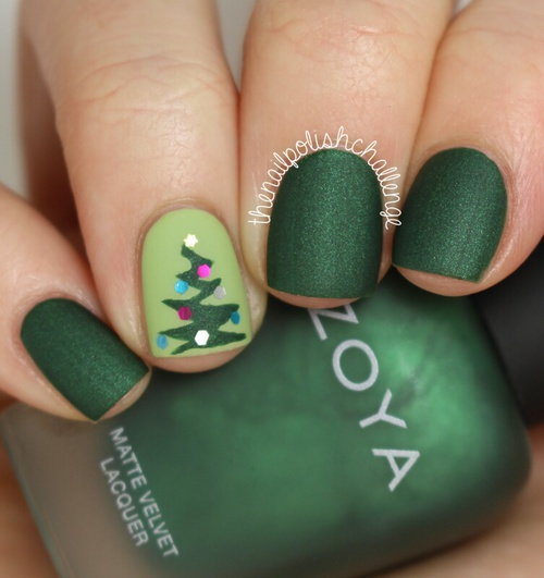 beauty, blue, celebration, christmas, christmas time, christmas tree, dark green, december, dot, dots, gold, green, happy new year, holiday, holidays, manicure, matte, nail, nails, new year, spruce, winter, fir-tree, spruce new year
