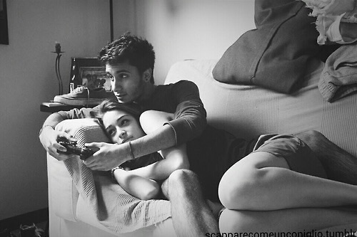 couples, cuddling, goals, holding hands, i love you, love, relationships, video games