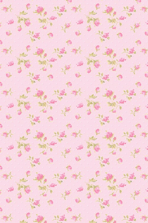 Iphone Pink Polka Dots Roses Vintage Image 3878972 By