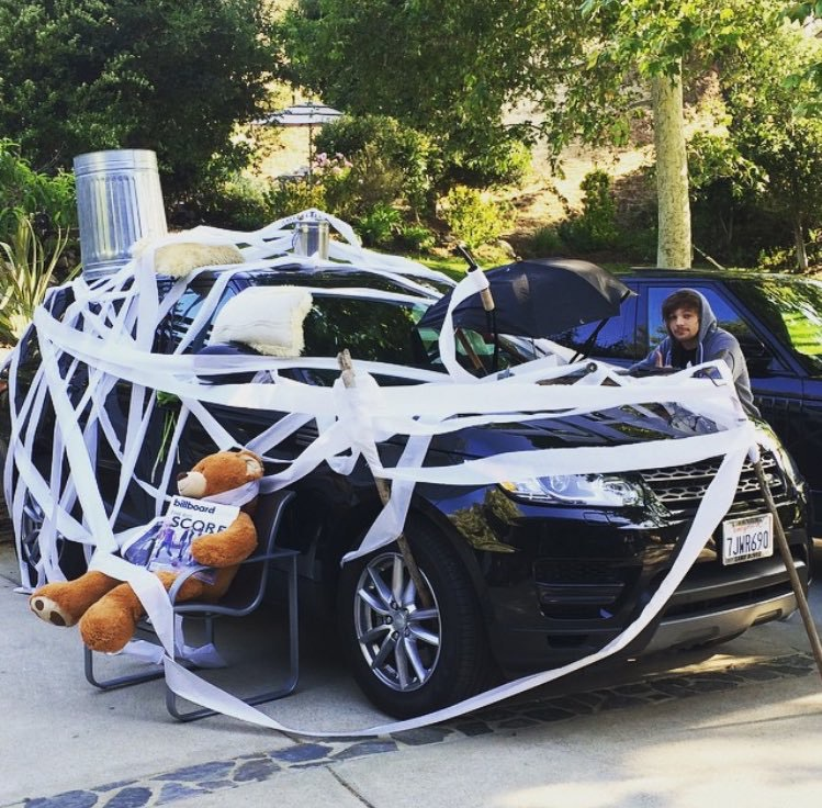 2015, bear, car, cute, funny, funny moments, louis tomlinson, mess, niall horan, one direction, prank, oh no niall