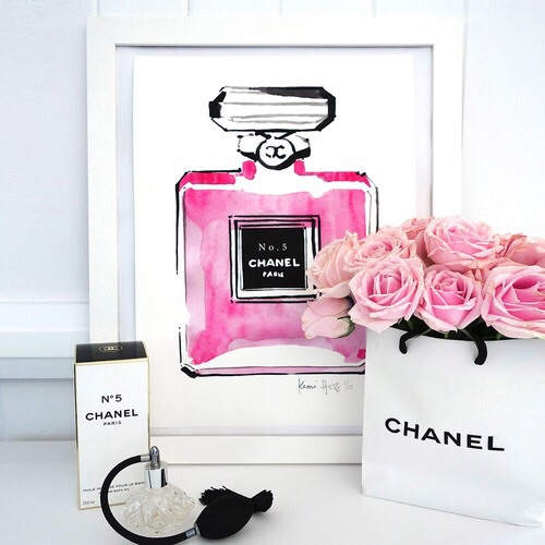 Black Chanel Frame Perfume Picture Image 3907639 By Marine21