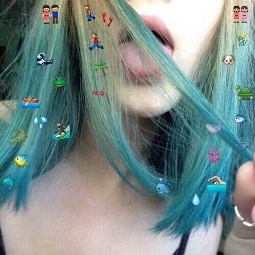 Blue Hair Color Colored Hair Colors Cool Image