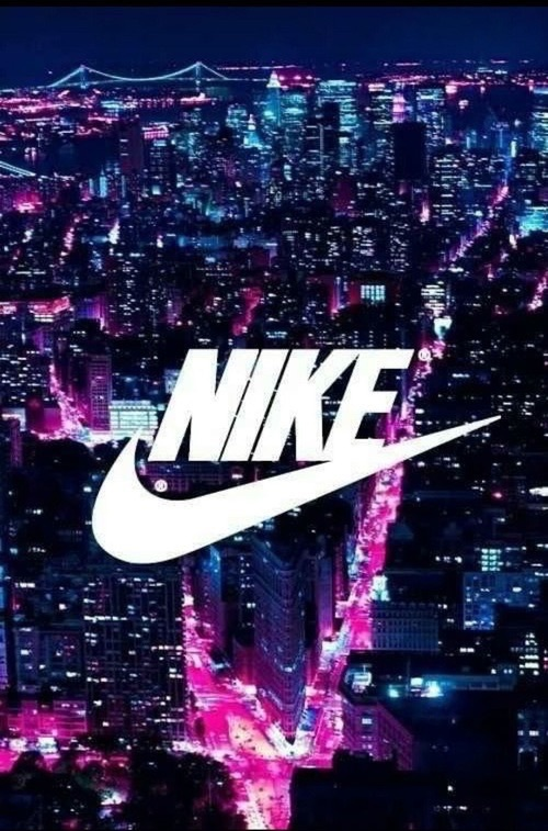 city, colorful, dark, lights, nike, pink, purple, swag, tumblr, white