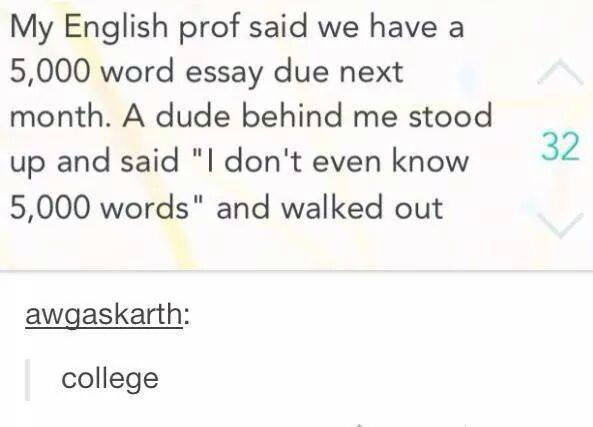 Can a college essay be funny