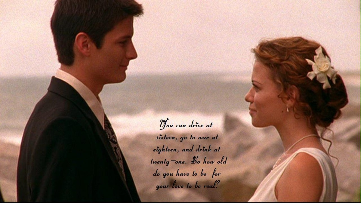1st wedding, haley, love, naley, nathan
