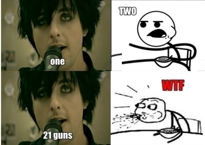 21 guns, billie joe armstrong, cereal guy, green day