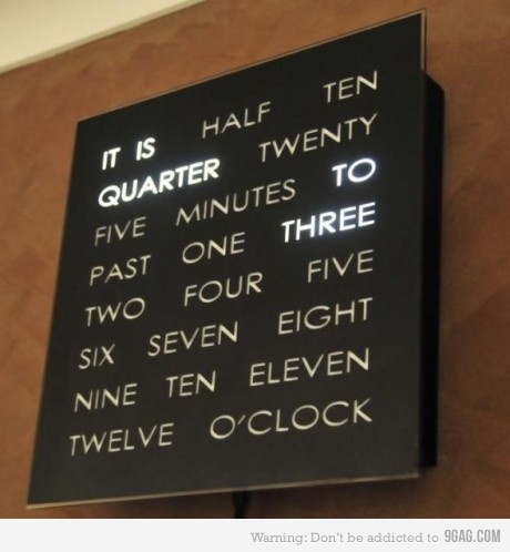 9gag, awesome, awsome, clock, cool