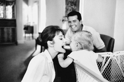 actress, adorable, audrey hepburn, child, cute