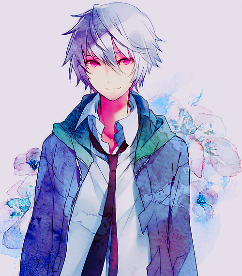 adorable, akise, akise aru, amazing, anime, art, beautiful, boy, cute, draw, eyes, fashion, guy, hair, illustration, image, kawaii, mael, mirai nikki, perfect, red, red eyes, smile, style