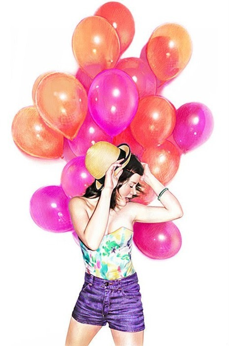adorable, alternative, amazing, art, balloons