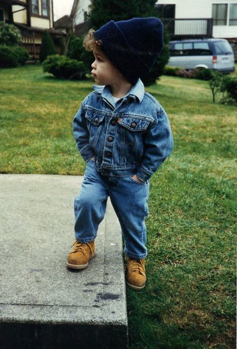 adorable, autumn, baby, baby cute, blonde, boy, little, guy, jeans, shoes, kawaii, jeansjacket, fashion, jeans jacket, child, swag, vintage, hat, cute, little boy, clothes, cute baby swagg, cap, kid, timberlands, cool