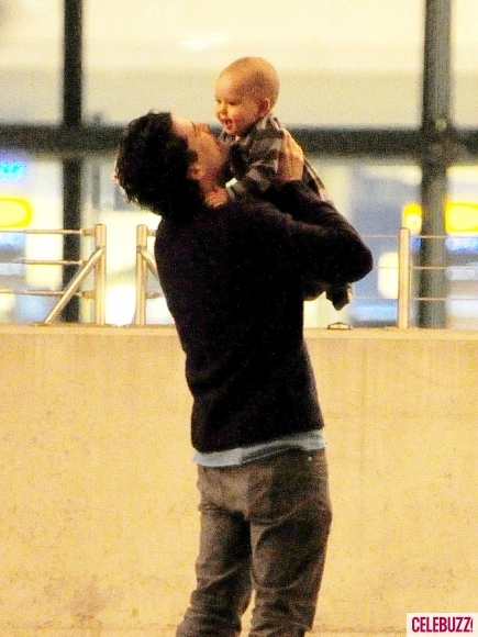adorable, baby, flynn, orlando bloom