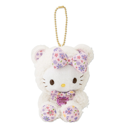 adorable, cute, doll, froral, hello kitty