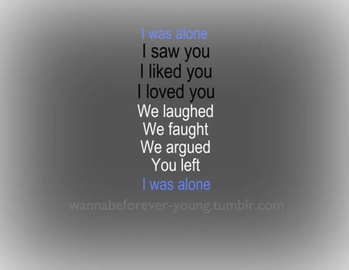 Quotes Text Fighting: Alone, Boy, Couple, Fight, Forever