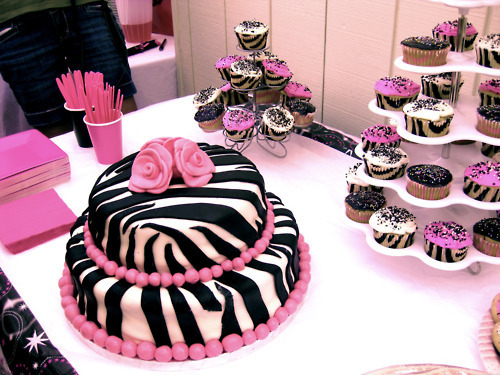 amazing, animal print, black, cake, cupcake