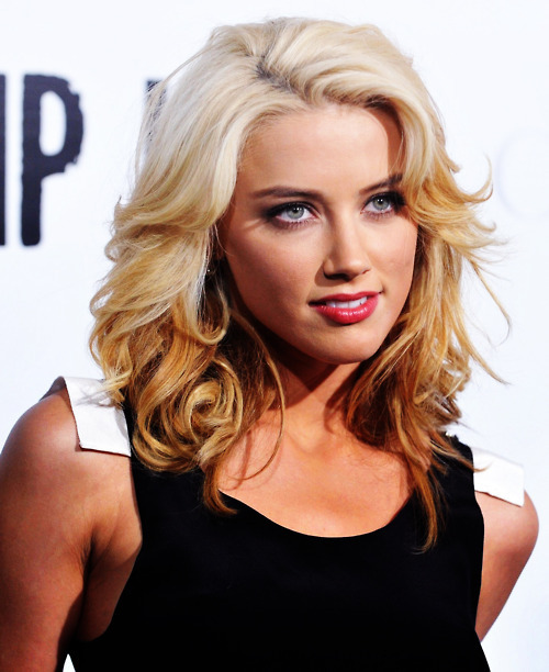 amber heard, blonde, eyes, gorgeous, hair