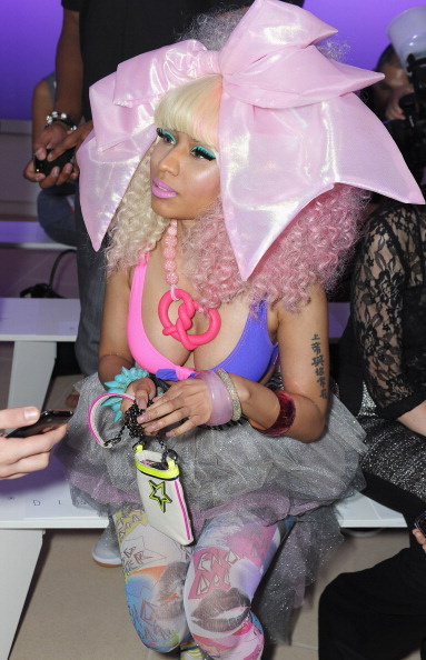 <3, adorable, blondy, blone, color, colors, crazy, curly, cute, fashion, funny, hair, love, love you, lya, minaj, nicki, nicki minaj, nickiii, pink, pinky, premiere, show, super bass, tatto