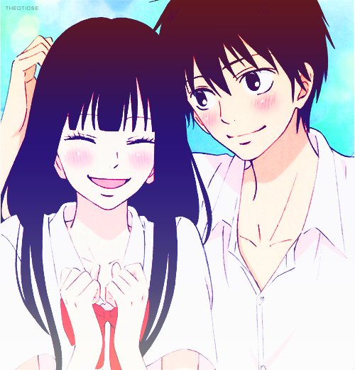 anime, anime couple, couple, cute, kawaii, kazehaya, kimi ni todoke, love, manga, reaching you, sawako