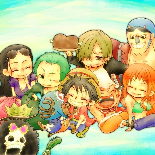 anime, chibi, cute, one piece