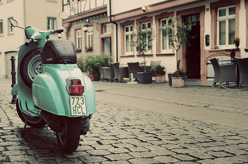 architecture, awsome, bar, beautiful, blue, buildings, celeste, city, cityscape, cool, europa, europe, italian, lucy, nice, photo, photography, sights, street, town, urban, vespa