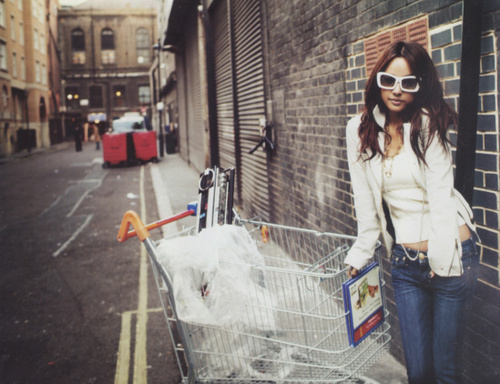 art, awesome, beautiful, cart, chic, cute, denim, fashion, girl, hair, jeans, photography, pretty, shopping, smile, style, sunglasses, teenager, white
