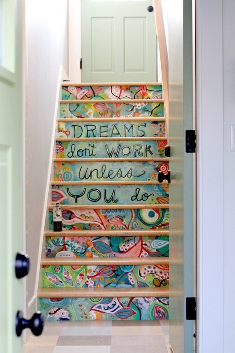 art, beauty, come, cute, destine, dream, dream color, dreams, interior, life, quote, stairs, true, work, you