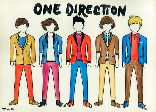 art, boo bear, cute *-*, directioner, draw