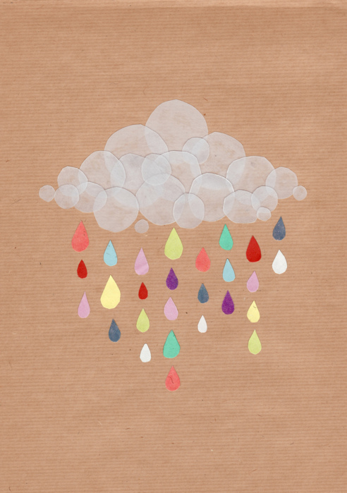 art, cloud, colours, craft, cute