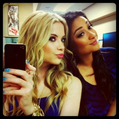 ashley benson, hannah, lucy hale, pretty little liars, shay mitchell, troian bellisario
