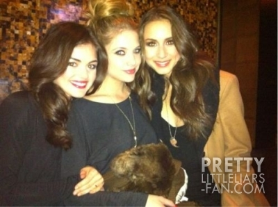 ashley benson, lucy hale, pretty little liars, shay mitchell, troian bellisario