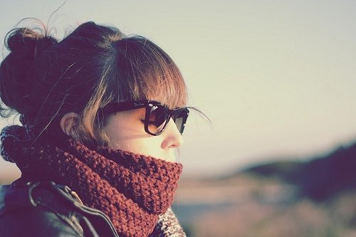 autumn, cold, girl, love, nice