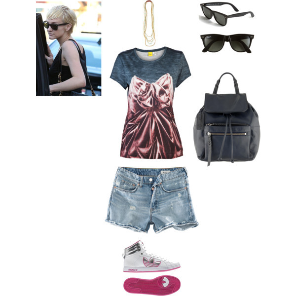 backpacks, casual day, hairstyles, necklaces, polyvore