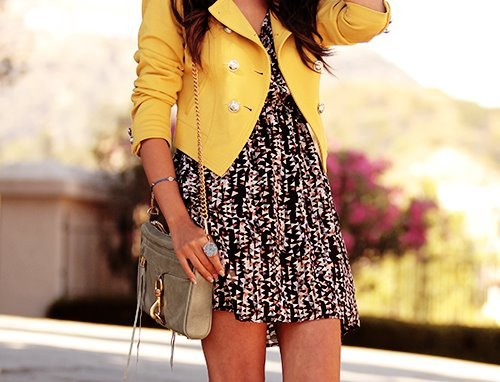bag, blazer, floral printed, jacket, purse