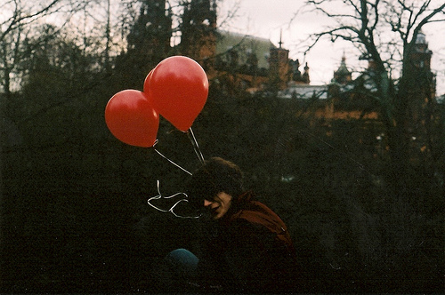 balloons, cute, film, hipster, indie