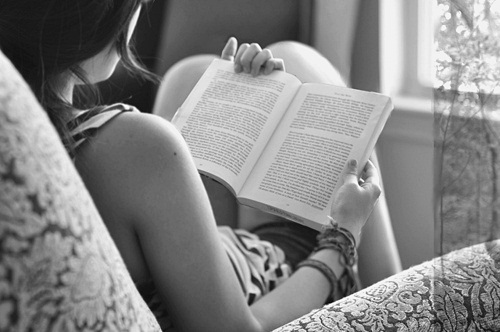 b&amp;w, beautiful, black and white, book, cool