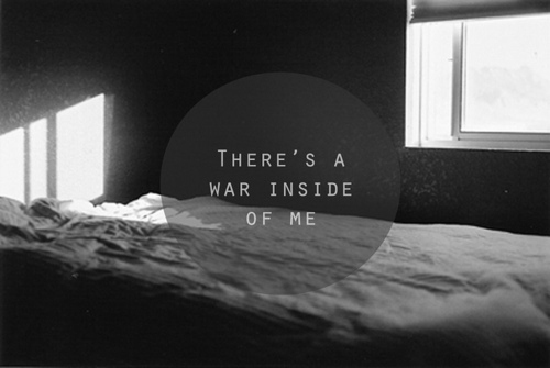b&w, black & white, black and white, inside, quotes, text, war, white, window