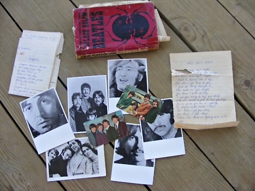 band, beatles, book, czech, george harrison