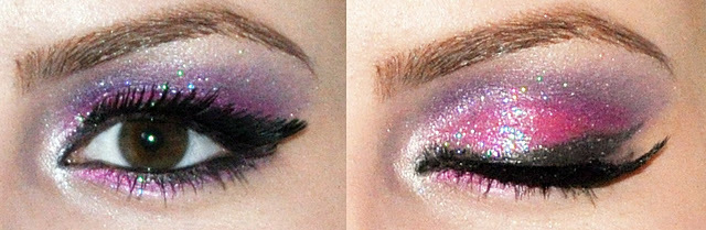barbie, glitter, make, makeup, pink