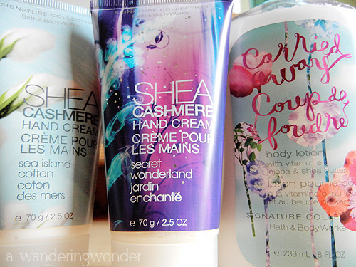 bath and body works, bath and bodyworks, beauty, carried away, cream, lotion, perfume, wonderland
