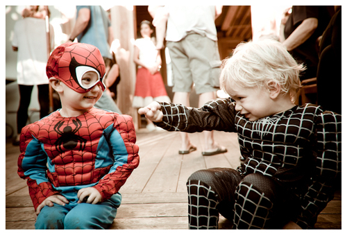 batman, cute, kids, little kid, photography, spider man, spiderman, spidermean