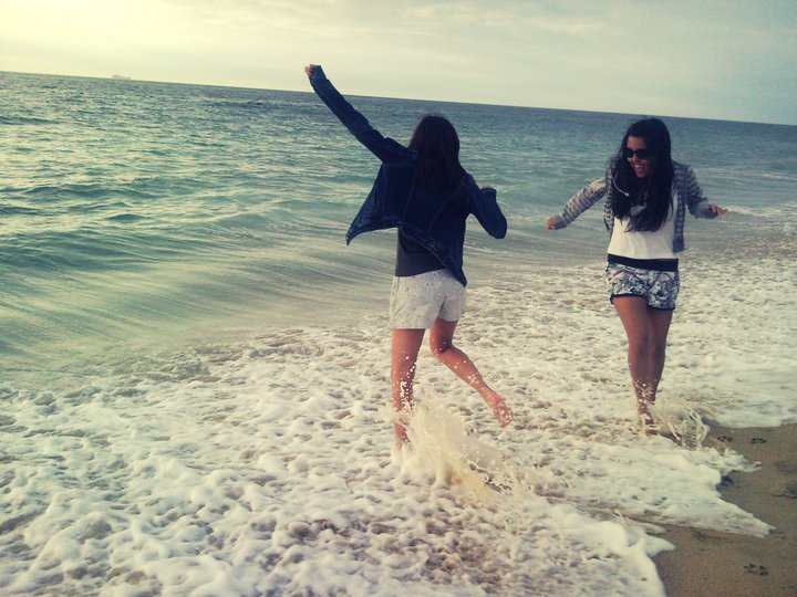 beach, best, bff, chile, friends