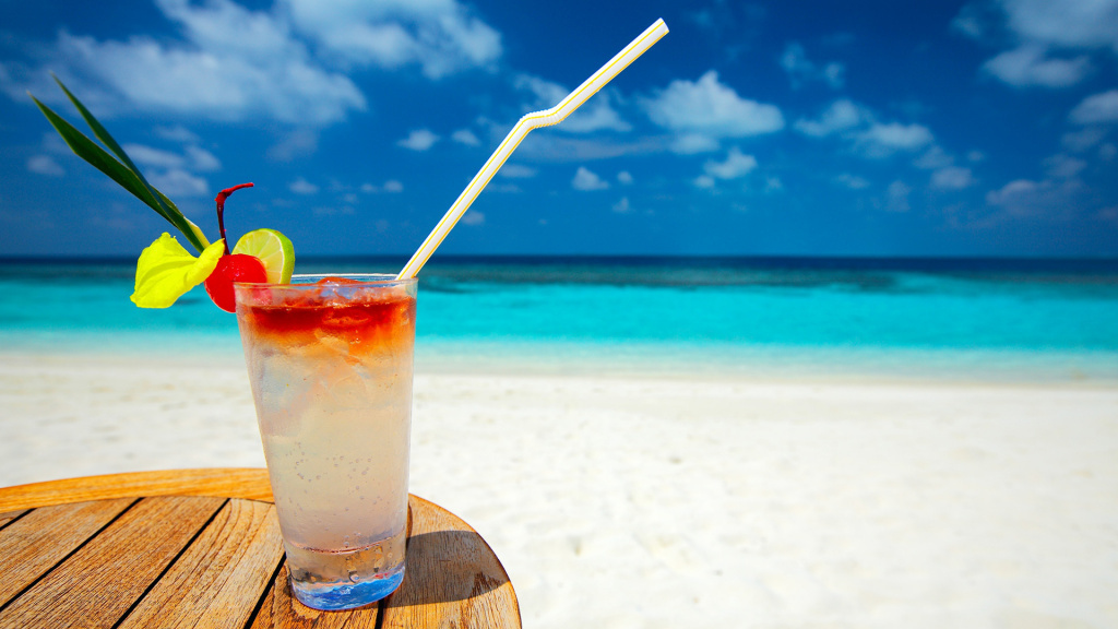 beach, cocktail, cold, colors, drink