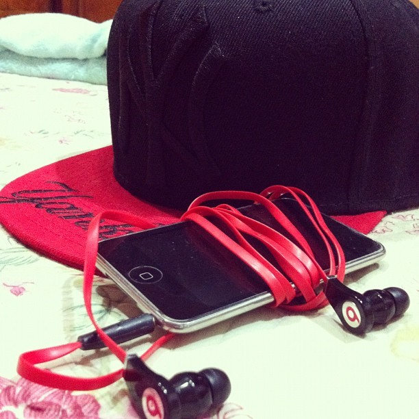 beats, black, cap, cool, fashion