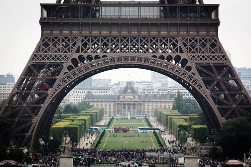 beautiful, beauty, eiffel, eiffel tower, france, green, paris, people, pretty, skyscraper, skyscrapers, tower, tower eiffel, trees