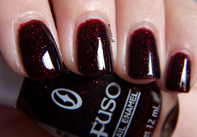 beautiful, black, dark red, glitter, gorgeous