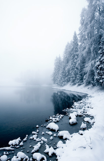 beautiful, blue, cold, lake, nature