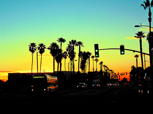 beautiful, california, photography, summer, sunset