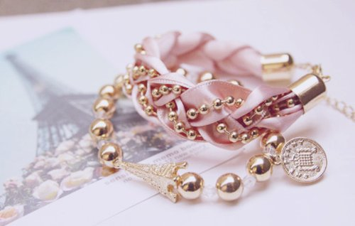 beautiful, charm bracelet, cute, fashion, girly
