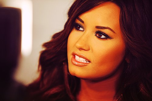 beautiful, demi lovato, girl, make up, xnothinglefttolose